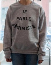 Je parle féministe, la Montréalaise Atelier, 65$www.lamontrealaiseatelier.com... (photo tirée du site web de la Montréalaise Atelier) - image 3.0