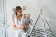 Josée-Anne Sarazin-Côté et sa fille Clara coulent des... (Photo fournie par la famille) - image 2.0
