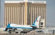 L'avion présidentiel Air Force One a atterri mercredi... (AFP) - image 3.0