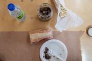 Dans la boîte à lunch d'Augusto Palazzetti, on... (Photo Hugo-Sébastien Aubert, La Presse) - image 3.0