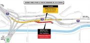 L'autoroute20 en directionest (centre-ville) sera partiellement entravée.... (IMAGE FOURNIE PAR LE MINISTÈRE DESTRANSPORTS, DE LA MOBILITÉ DURABLE ET DE L'ÉLECTRIFICATION DES TRANSPORTS) - image 1.0