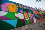 On peut voir cette oeuvre murale à l'angle... (Photo Hugo-Sébastien Aubert, La Presse) - image 1.0