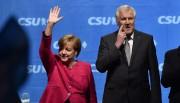 Angela Merkel et Horst Seehofer.... (AFP) - image 2.0