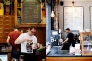 Le café Stumptown, à gauche, et le café... (PHOTOS SARAH MONGEAU-BIRKETT, LA PRESSE) - image 4.0