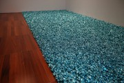 Le tapis de bonbons de Felix González-Torres, une... (Photo Martin Chamberland, La Presse) - image 2.0