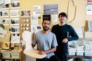 Les designers Nicholas Sangaré et Lambert Rainville, de... (Photo Alain Roberge, La Presse) - image 4.0