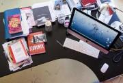 La table de travail de Brigitte Haentjens... (PHOTO EDOUARD PLANTE-FRÉCHETTE, LA PRESSE) - image 2.0