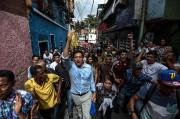 Le candidat de l'opposition dans l'État de Miranda,... (Photo Juan BARRETO, AFP) - image 1.0