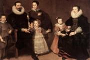 Un portrait de la famille Médicis deCornelis De... (Photo tirée de l'internet) - image 2.0