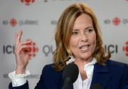 Anne Guérette, chef de Démocratie Québec... (PhotoYan Doublet, Le Soleil) - image 1.0