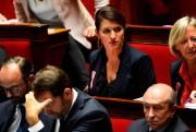 Marlène Schiappa,secrétaire d'État à l'Égalité entre les femmes... (PhotoBertrand GUAY, Agence France-Presse) - image 1.0