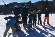 Leçon de ski alpin à La Réserve de... (Photo fournie par l'école de ski La Réserve) - image 1.0