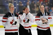 En avril dernier, les Canadiennes Bailey Bram, Marie-Philip... (Photo Carlos Osorio, Archives Associated Press) - image 2.0