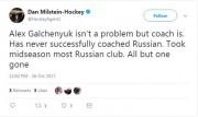Le tweet de l'agent de joueurs Daniel Milstein... (Capture d'écran de Twitter) - image 1.0