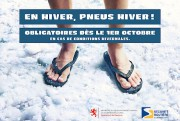 Ci-haut, une publicité des autorités routières du Luxembourg,... - image 3.0