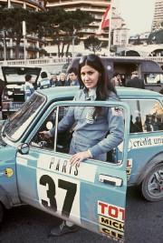La pilote de rallye Michèle Mouton pose lors... - image 2.0