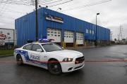 Les policiers dépêchés sur les lieux ont trouvé... (Patrick Sanfaçon, La Presse) - image 1.0