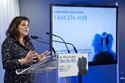La présidente-directrice générale de la CCQ, Diane Lemieux.... (photo PATRICK SANFAÇON, LA PRESSE) - image 1.0