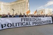 Mardi, quelque 200 maires indépendantistes catalans arrivés en... (AP) - image 1.0