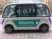 Le minibus Navya a circulé à Montréal au... - image 6.0
