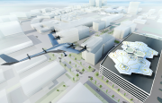 Une représentation d'un autoaéroport Uber Elevate. Image: Uber,... - image 1.0