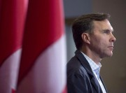 Bill Morneau, ministre des Finances... (Photo Andrew Vaughan, La Presse Canadienne) - image 1.0
