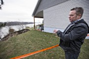 Le propriétaire Dominic Feuiltault est inquiet pour sa... (Photo Patrick Sanfaçon, La Presse) - image 1.0