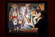 Les Femmes d'Alger (version 0), de Pablo Picasso.... (REUTERS) - image 2.0