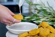 Des falafels à la citrouille et sauce au... (Photo David Boily, La Presse) - image 3.0