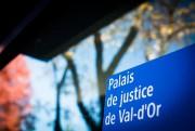 C'est au palais de justice de Val-d'Or que... (Photo Olivier Jean, La Presse) - image 1.0