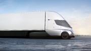 Le Semi présente un profil particulièrement aérodynamique pour... (Illustration fournie par Tesla) - image 1.0