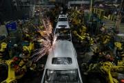 La chaîne d'assemblage des Odyssey à l'usine Honda... - image 3.0