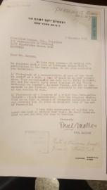 Contrat qui atteste de l'acquisition du bas-relief par... (PHOTO DÉPOSÉE À LA COUR) - image 1.0