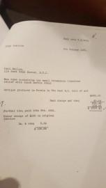 Contrat qui atteste de l'acquisition du bas-relief par... (PHOTO DÉPOSÉE À LA COUR) - image 1.1