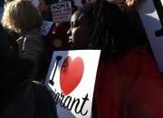 Une manifestation a eu lieu hier à New... (PhotoTIMOTHY A. CLARY, Agence France-Presse) - image 1.0