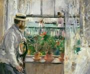 Berthe Morisot, Eugène Manet à l'île de Wight,... (Photo fournie par le MNBAQ) - image 2.0