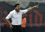 Le nouvel entraîneur de l'AC Milan, Gennaro Gattuso.... (Photo Thanassis Stavrakis, archives AP) - image 1.0