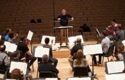 L'orchestre répète devant une salle vide avant de... (Photo André Pichette, La Presse) - image 1.0