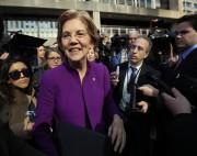 Elizabeth Warren a été l'une des bêtes noires... (AP) - image 2.0