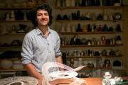 Philippe Charlebois Gomez aime créer des lampes à... (Photo David Boily, La Presse) - image 5.0