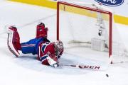 Carey Price a repoussé in extremis la rondelle... (Photo Paul Chiasson, La Presse canadienne) - image 1.0
