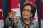 Hedy Fry, la présidente du Comité permanent du... (PhotoAdrian Wyld, La Presse Canadienne) - image 1.1