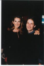 Céline avec le compositeur James Horner lors de... (Photo Eric Charbonneau, Berliner Studios) - image 2.0