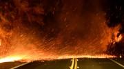 Une route de Santa Ana aux prises avec... (REUTERS) - image 2.0
