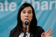 La mairesse de Montréal Valérie Plante donne une... (PHOTO Kamil Krzaczynski, REUTERS) - image 1.0