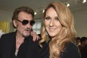 Johnny Hallyday et Céline Dion en juillet 2016.... (Photo archives AP) - image 4.0