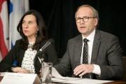 La mairesse de Montréal, Valérie Plante et le... (Photo François Roy, La Presse) - image 1.0