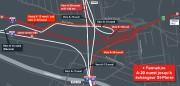 Des entraves de week-end pour les six prochains... (Image fournie par le ministère des Transports) - image 6.0