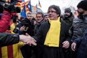 Carles Puigdemont, le président destitué de la Catalogne,... (Photo AFP) - image 1.0