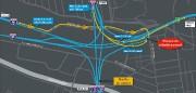 La nouvelle autoroute 20 Ouest et ses accès.... (Image fournie par le ministère des Transports) - image 3.0